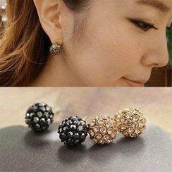 Best Jewellery - Rhinestone Stud Earrings