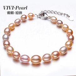 ViVi Pearl - 多色淡水珍珠手镯