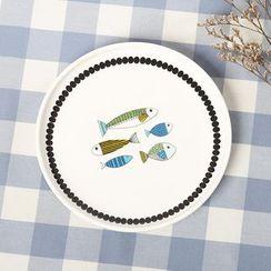 Gukan - Fish Print Plate