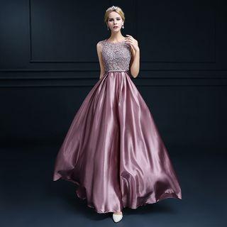 Rosita - Sleeveless A-Line Evening Gown