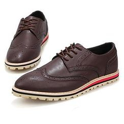 Preppy Boys - Wing-Tip Oxfords