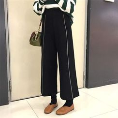 Alfie - Wide-Leg Cropped Pants