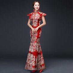 皇家尚品 - 刺绣结婚旗袍