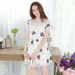 Tokyo Fashion - Floral Chiffon Dress