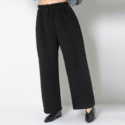 FASHION DIVA - Drawstring-Waist Wide-Leg Pants