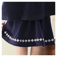Sechuna - A-Line Fleece Skirt