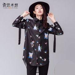 Cloudwood - Printed Long Shirt