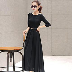 Romantica - 3/4-Sleeve Maxi Dress