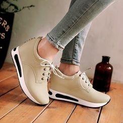 Pastel Pairs - 內增高休閒鞋