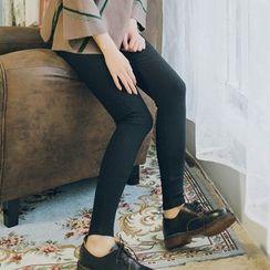 DK Yannie - High-Waist Skinny Pants
