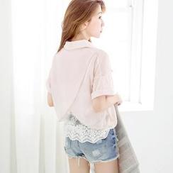 Tokyo Fashion - Chiffon Layered Blouse