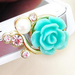 Fit-to-Kill - Beautiful Flowers iPhone Earphone Plug