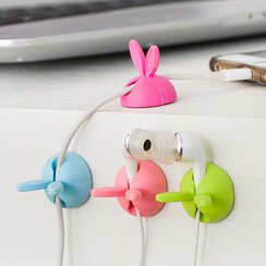 YUNO - Rabbit Silicone Data Cable Organzier