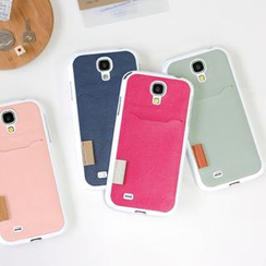 iswas - Galaxy S4 Case with Card Holder