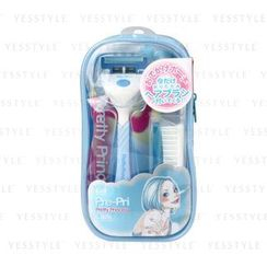 KAI - Pre-Pri 剃刀 + 梳連化粧袋套裝 (隨機顏色)