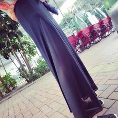 DreamyShow - Slit-Side Maxi Skirt