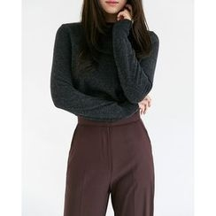 Someday, if - Crew-Neck Wool Knit Top