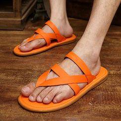 Muyu - 多带夹趾拖鞋