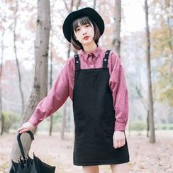 Rainie - Shift Suspender Dress