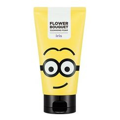 Missha - Minions Edition : Flower Bouquet Cleansing Foam (Iris) 120ml