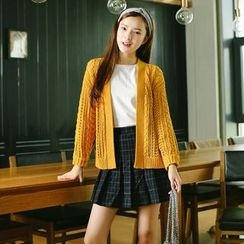 ZIZI - Ribbed Cardigan