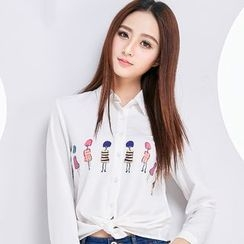 Eferu - 印花衬衫
