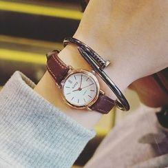 Honey Bee - 真皮带式手表