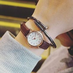Honey Bee - Genuine Leather Strap Watch