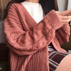 Cloud Nine - Cable Knit Cardigan