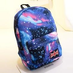 Crystal - Galaxy Print Backpack