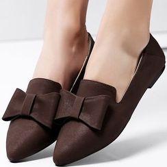 Sidewalk - 蝴蝶结平跟鞋