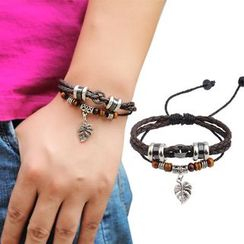 KINNO - Leaf Beaded Bracelet