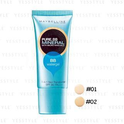 Maybelline New York - Pure BB Mineral 8-in-1 Watergel SPF 35 PA+++ (#01 Natural Beige)