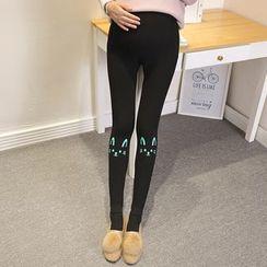 Dadada - Maternity Printed Leggings