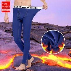 Veni Masee - 雙層加絨緊身保暖褲