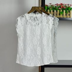 AIGIL - Sleeveless Lace Top