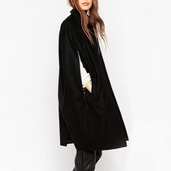 Richcoco - Plain Cape Coat