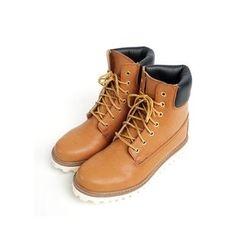 JOGUNSHOP - Lace-Up Ankle Boots