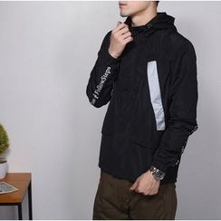 Bigboy - Reflective Applique Hooded Jacket