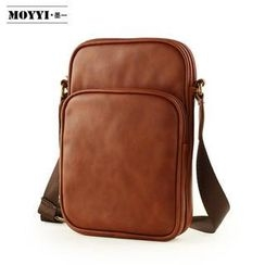 Moyyi - Faux-Leather Cross Bag