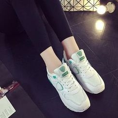 HOONA - Paneled Sneakers