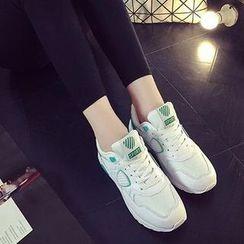 HOONA - 拼接休闲鞋