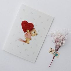 Full House - Bear-Print Greeting Card