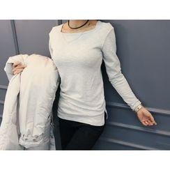 DANI LOVE - Square-Neck T-Shirt
