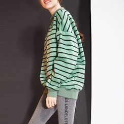 Halona - Long-Sleeve Striped Top