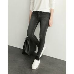 UPTOWNHOLIC - Washed Skinny Pants