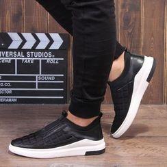 Armsal - 压纹格子运动休閒鞋