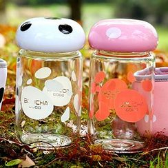 Show Home - Mushroom Water Bottle with Tea Infuser