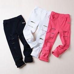 Kidora - 童装仿旧长裤