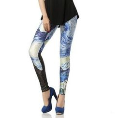 Omifa - Printed Leggings